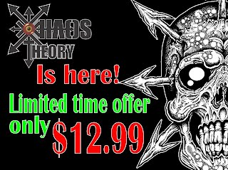 Buy Xhaos Theory Rule book here!
